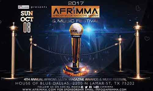 Afrimma 2017 à Dallas