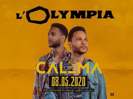 Calema à l'Olympia